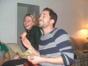 After a bite of the Clove Cookie, laughter came before tears.