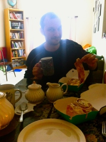 Tea party with Mitch