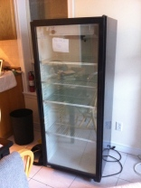 We found an Industrial Bar Fridge. That's all.